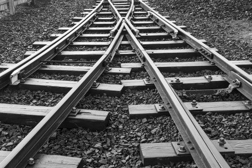 railroad tracks for customer experience and customer success